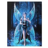 Anne Stokes  Enchantment- canvas wall plaque